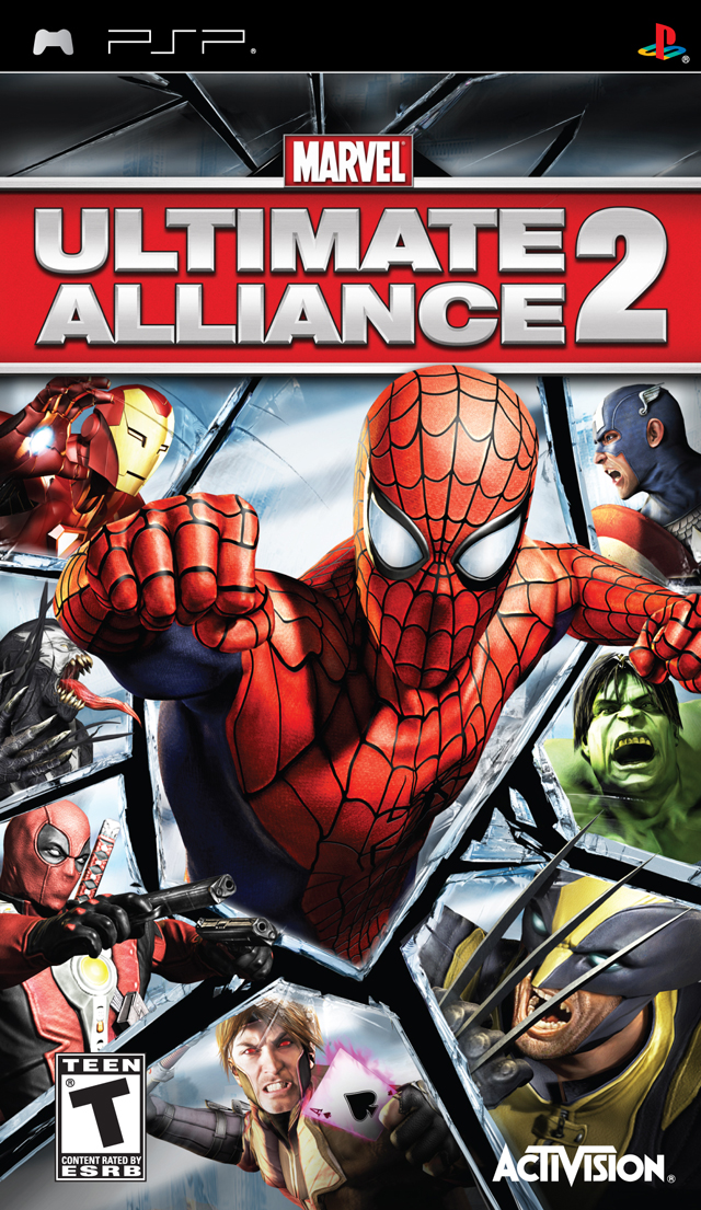 Marvel - Ultimate Alliance 2 - Playstation Portable(PSP ISOs) ROM
