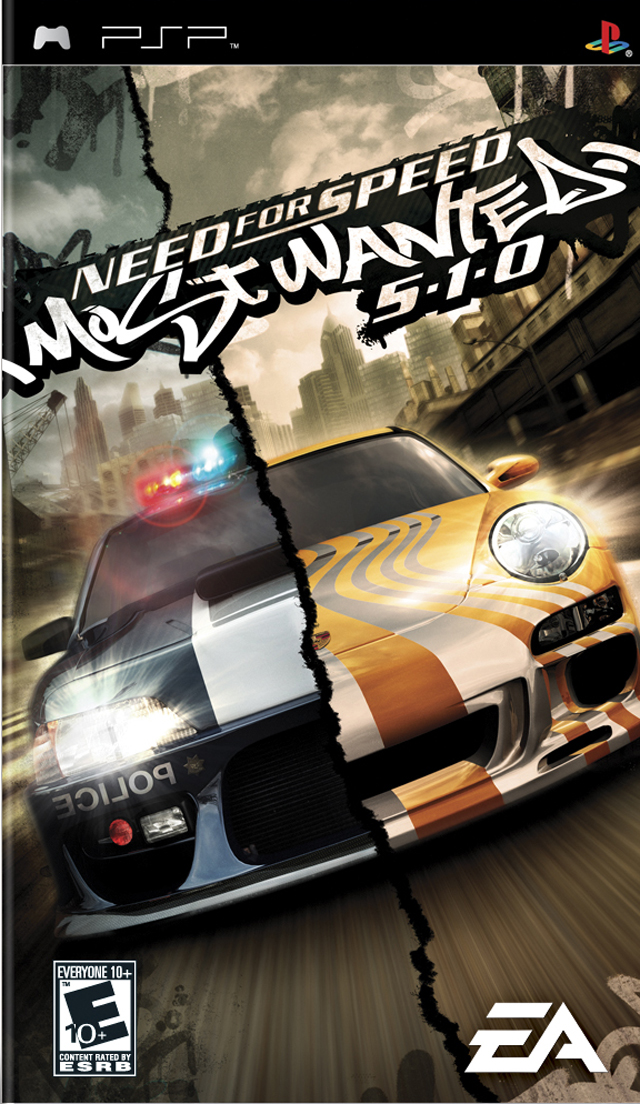 Need For Speed - Most Wanted 5-1-0 - PSP ROM Free Download
