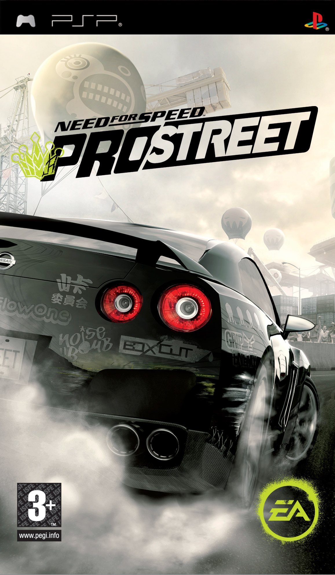 Need For Speed - ProStreet - PSP ROM Free Download