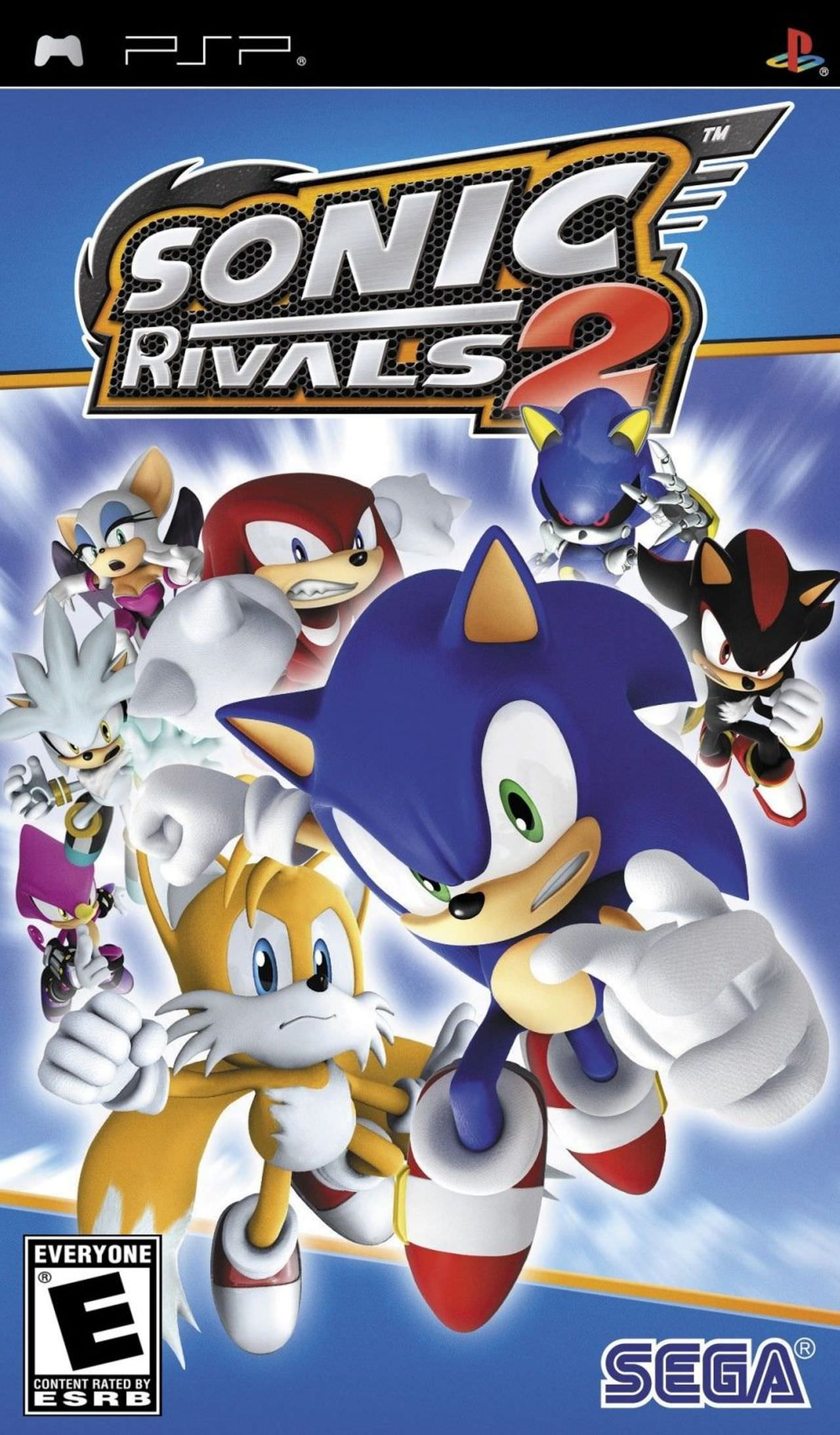 Sonic Rivals 2 Playstation Portable Psp Isos Rom Download