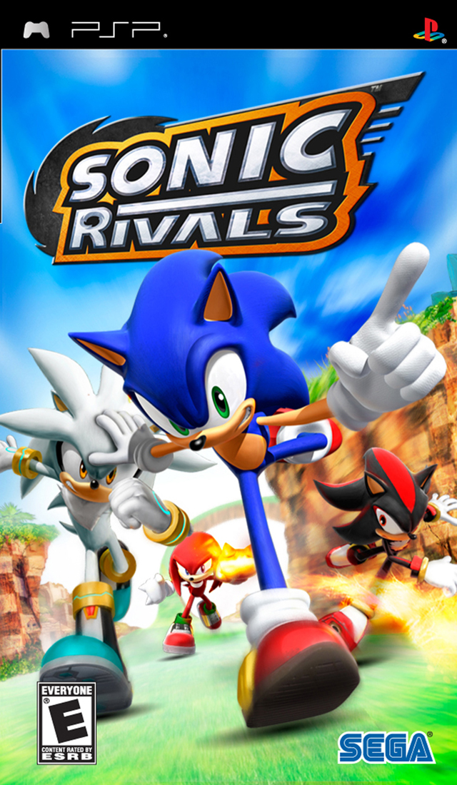 Sonic Rivals Playstation Portable Psp Isos Rom Download