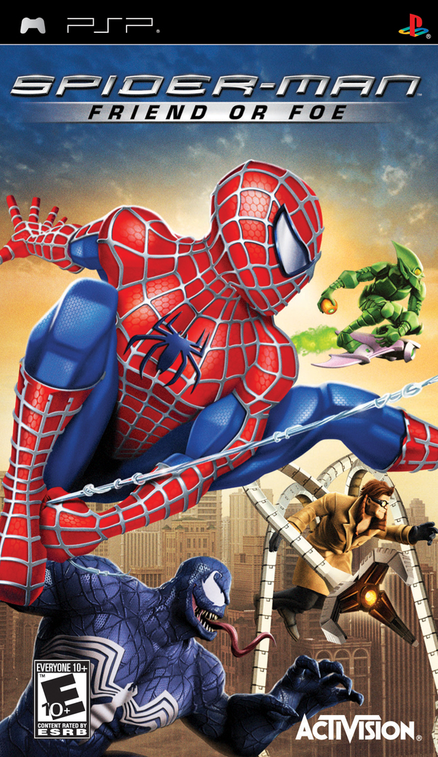 Spider-Man - Friend Or Foe - Playstation Portable(PSP ISOs