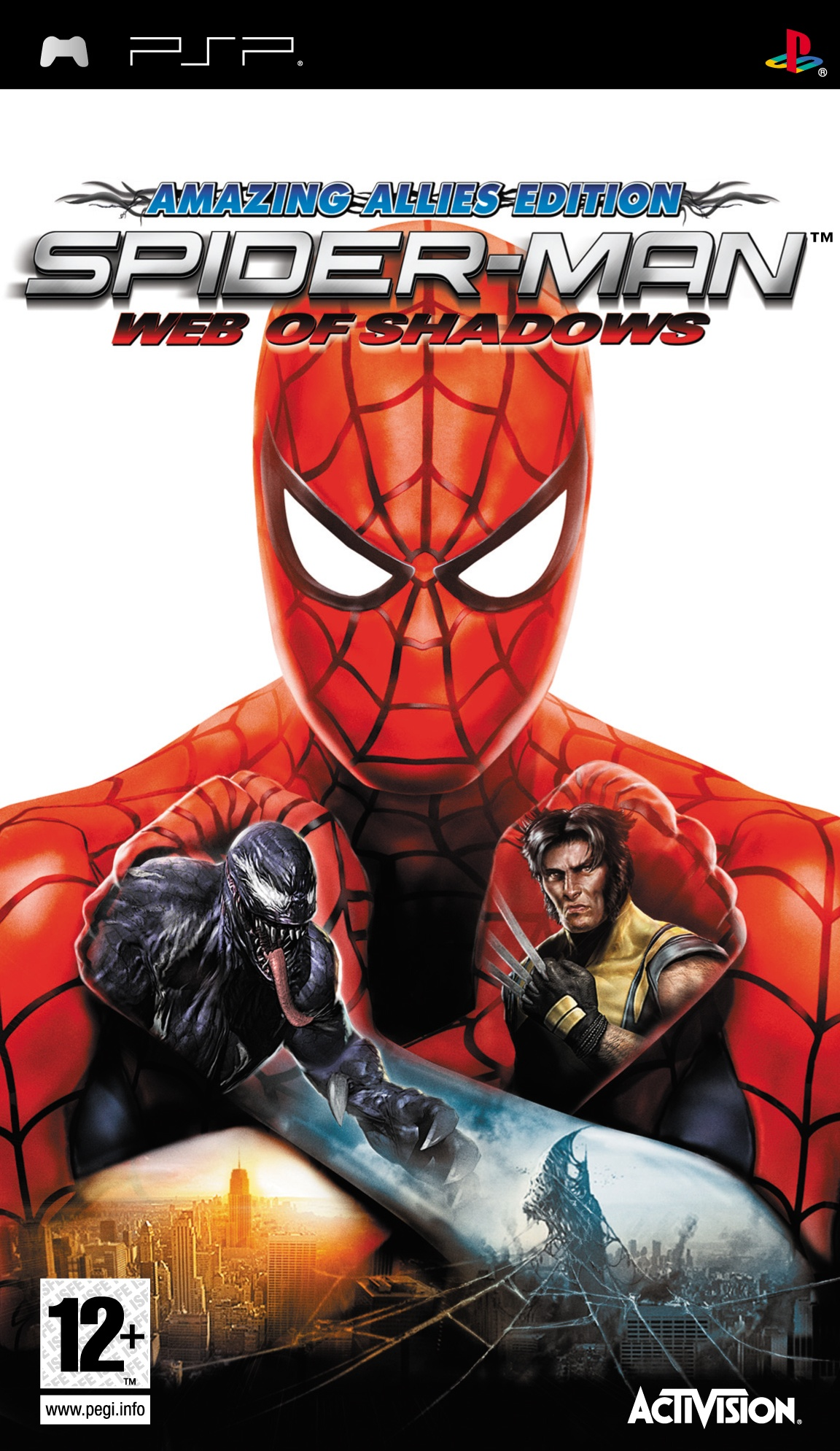 Spider-Man - Web Of Shadows - Playstation Portable(PSP ISOs) ROM