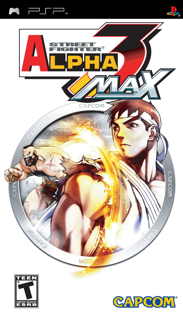 Street Fighter Alpha 3 Max - Playstation Portable(PSP ISOs