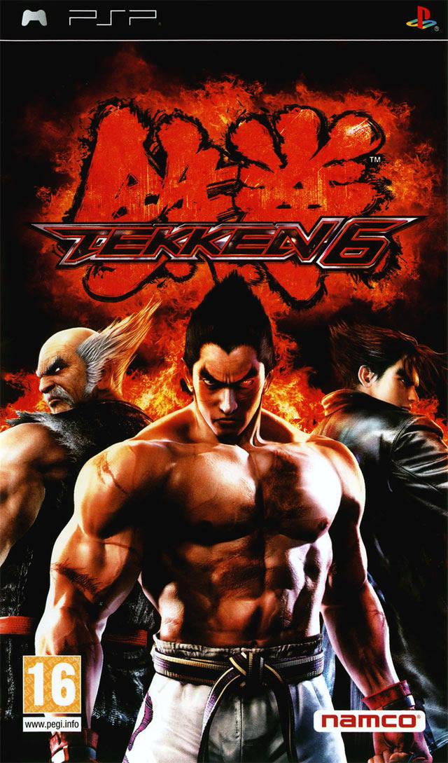 Tekken 6 Playstation Portable Psp Isos Rom Download