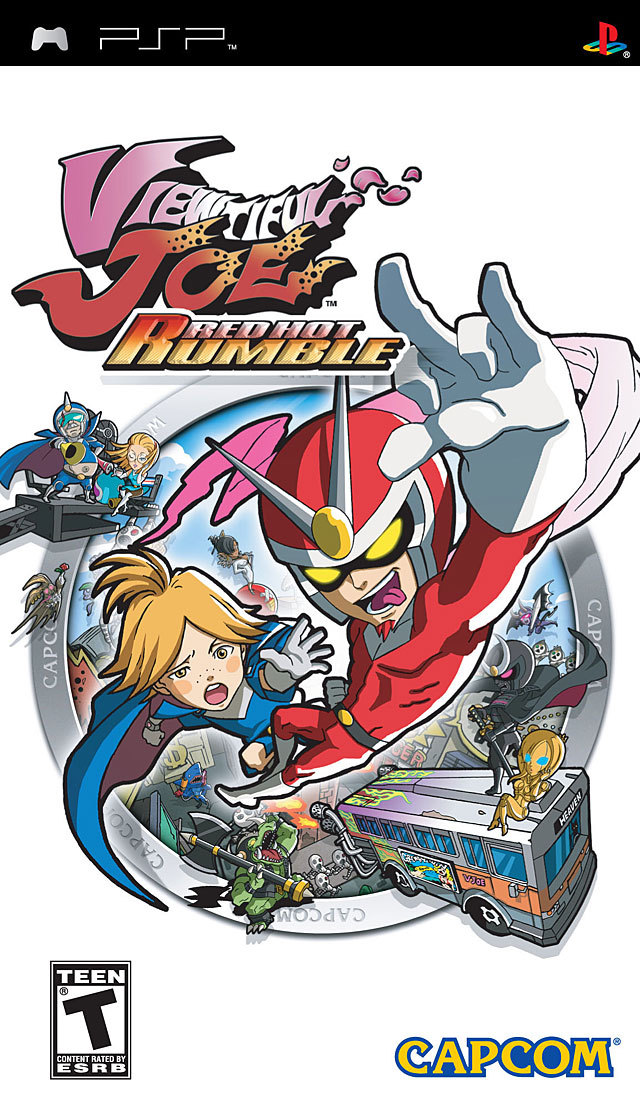 Viewtiful Joe - Red Hot Rumble - Playstation Portable(PSP ISOs) ROM