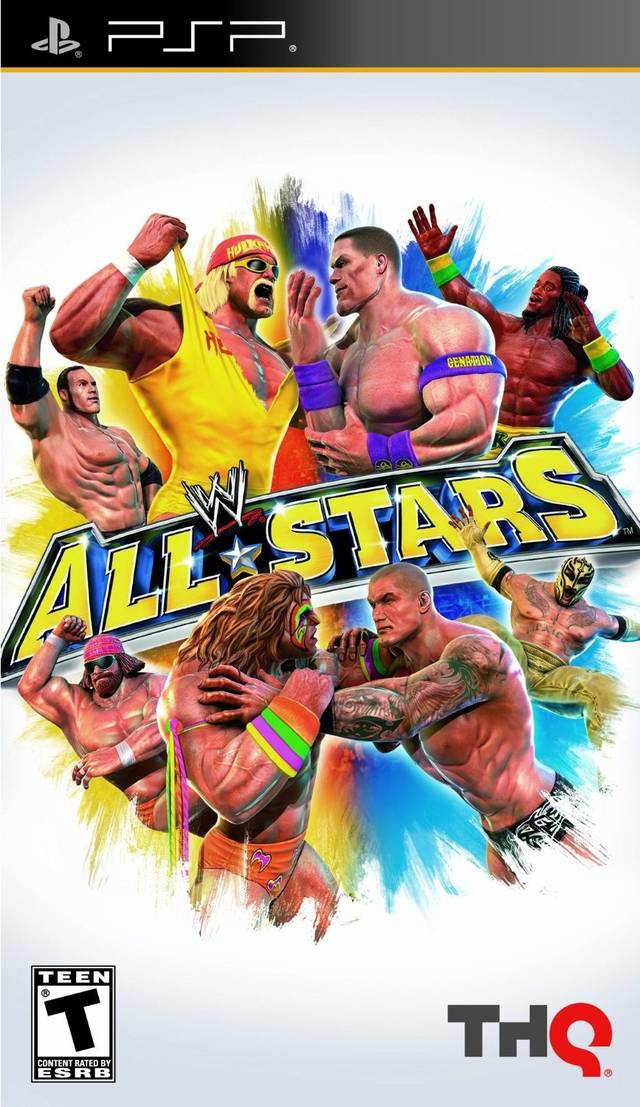 WWE All-Stars - Playstation Portable(PSP ISOs) ROM Download