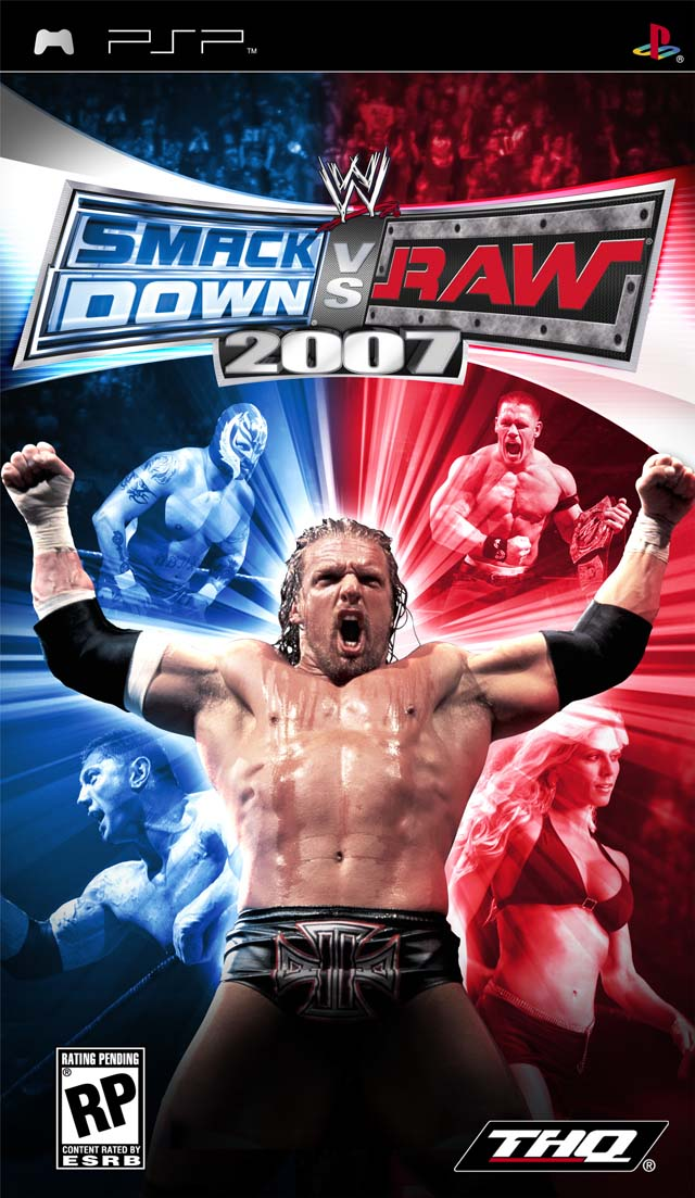 WWE SmackDown Vs  RAW 2007 - Playstation Portable(PSP ISOs) ROM Download