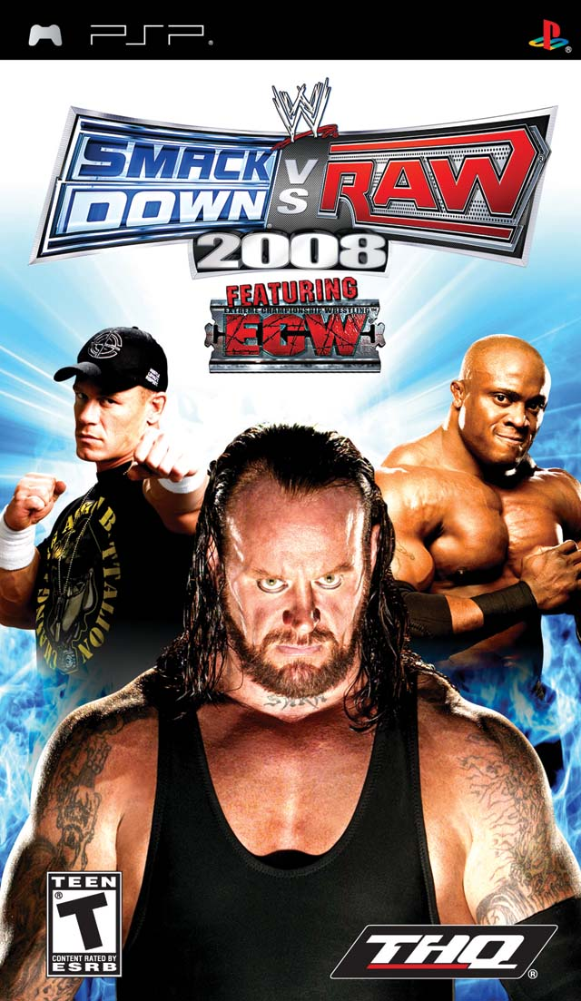 WWE SmackDown Vs  RAW 2008 Featuring ECW - PSP ROM Free Download