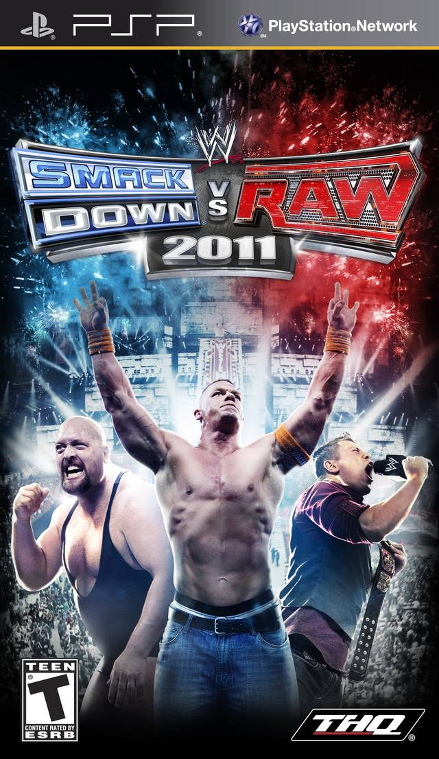 WWE SmackDown Vs  RAW 2011 - Playstation Portable(PSP ISOs