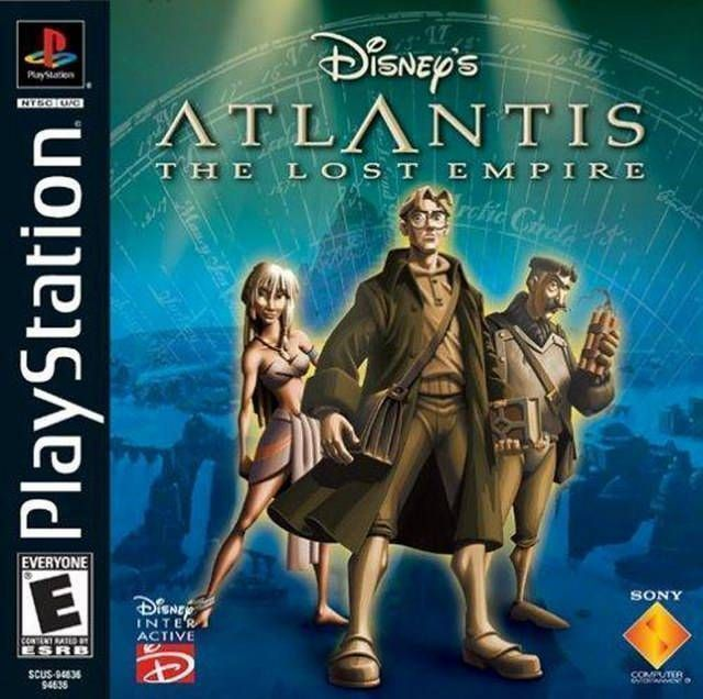 Disney's Atlantis - The Lost Empire  [SCUS-94636]