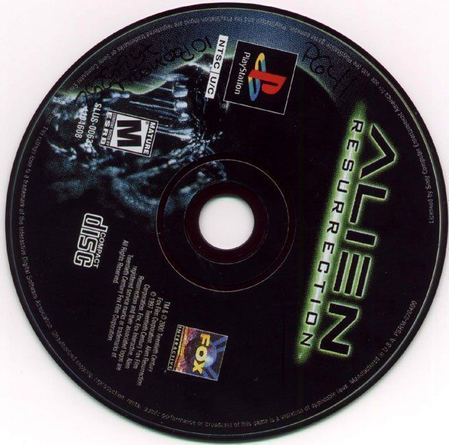 Alien Resurrection [SLUS-00633]