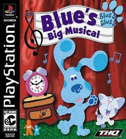 Blue's Clues - Blue's Big Musical  [SLUS-01198]