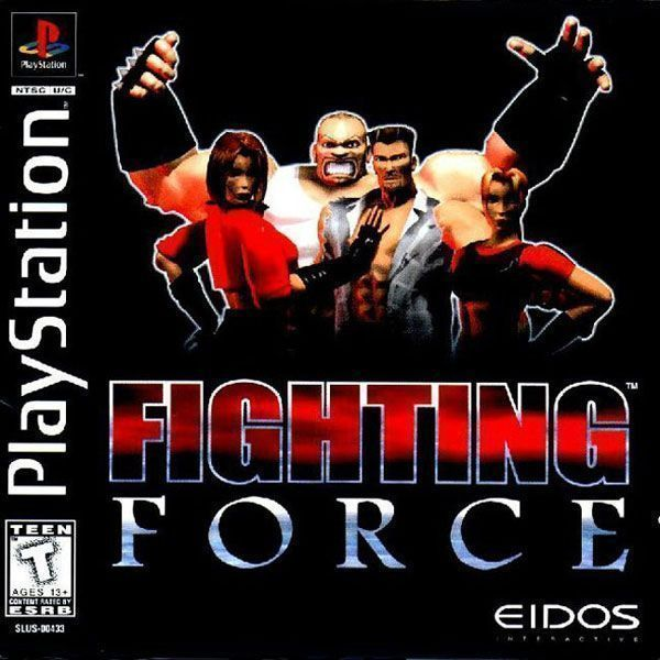 Fighting Force [SLUS-00433] - Playstation(PSX/PS1 ISOs) ROM