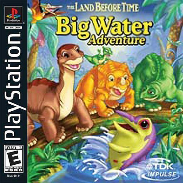 Land Before Time Big Water Adventure Bin [ [SLUS-01481]
