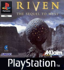 Riven The Sequel To Myst CD4 [SLUS-00565]