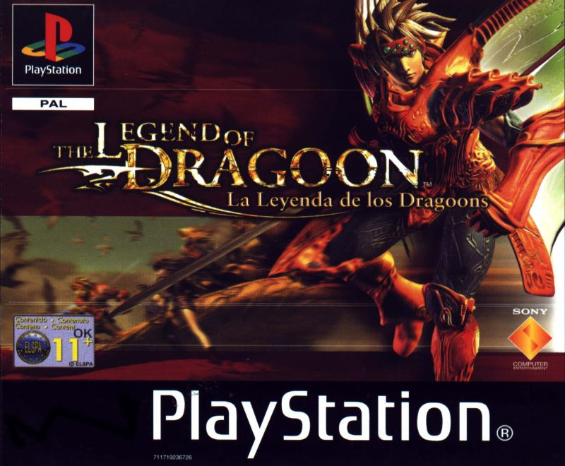 Legend Of Dragoon CD1
