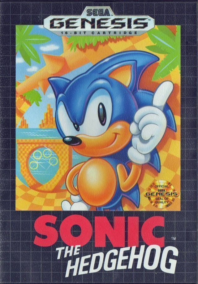 Sonic The Hedgehog Jue Sega Genesis Sega Mega Drive Rom Download