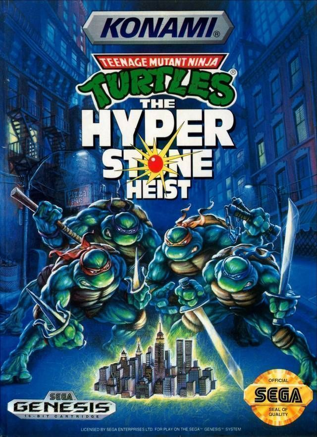 Teenage Mutant Hero Turtles - The Hyperstone Heist