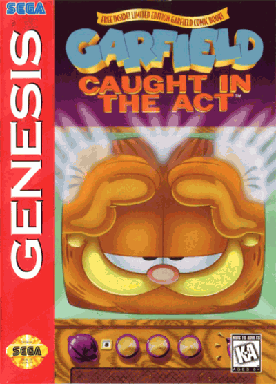 Garfield - Caught In The Act (C)