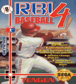 RBI Baseball 4 (UJE) (Aug 1991) [b1]