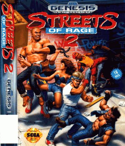 Streets Of Rage 2 - Sega Genesis(Sega Mega Drive) ROM Download
