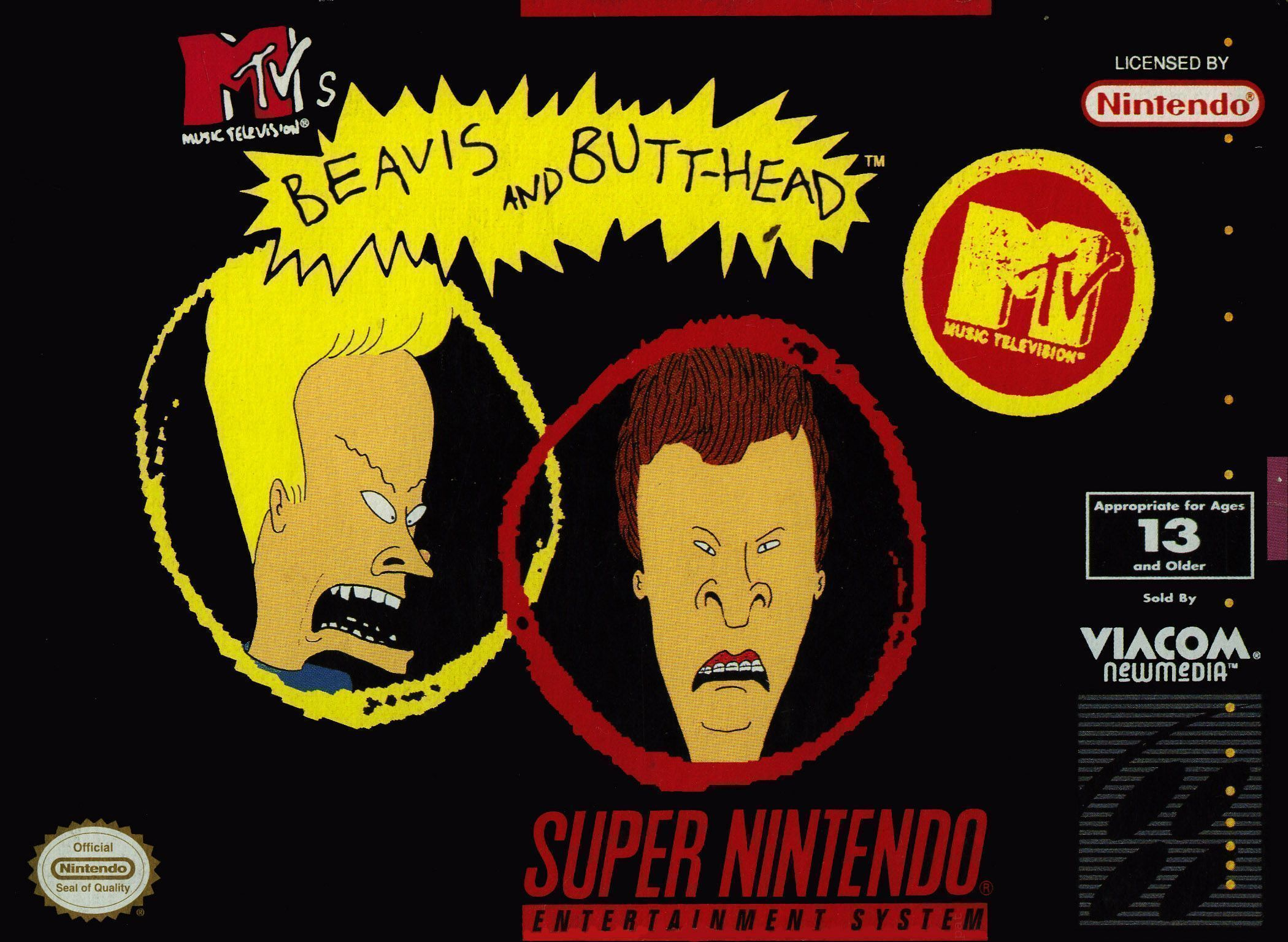 Beavis And Butt Head Super Nintendo Snes Rom Download