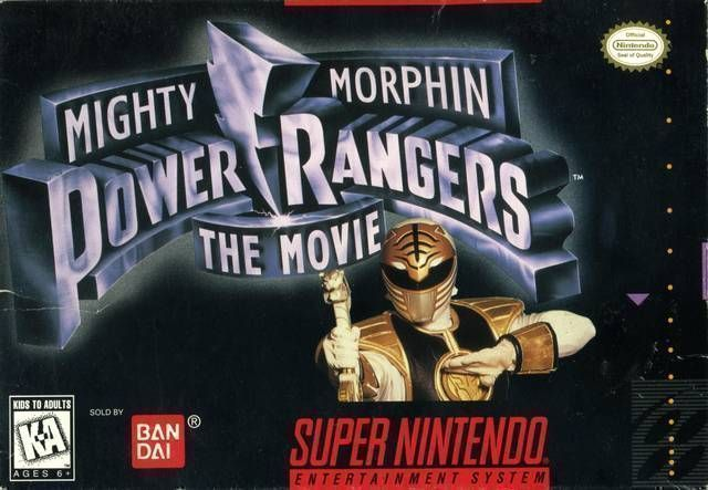 Mighty Morphin Power Rangers The Movie Super Nintendo