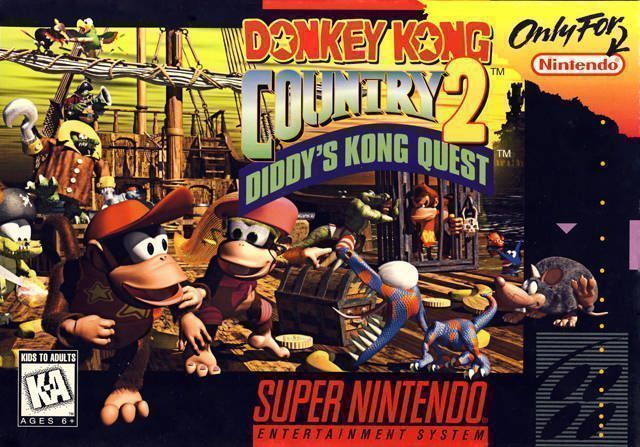 Donkey Kong Country 2-Diddys Kong Quest1 1 - SNES ROM Free Download