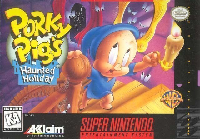 Porky Pig's Haunted Holiday  (Sunsoft)