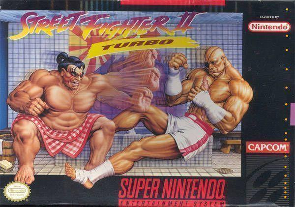 Street Fighter Ii Turbo Super Nintendo Snes Rom Download