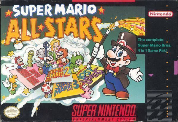 Super Mario All-Stars - Super Nintendo(SNES) ROM Download