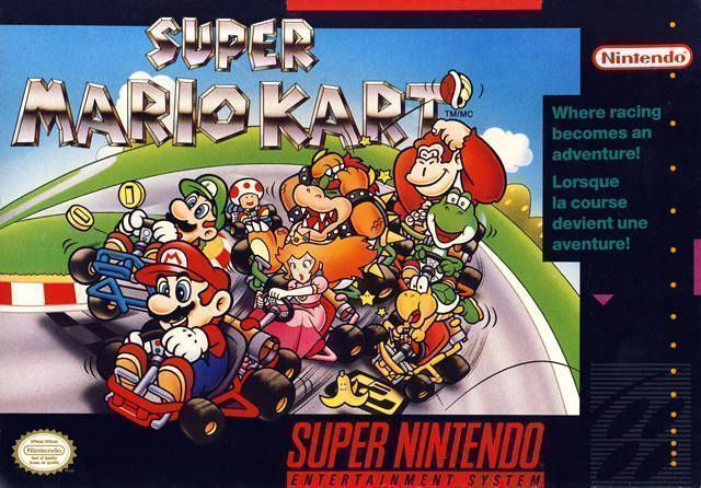 Super Mario Kart - Super Nintendo(SNES) ROM Download