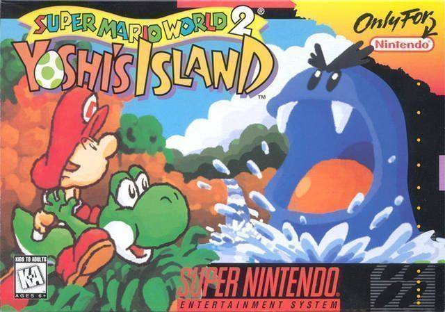 Super Mario World 2 - Yoshi's Island (V1 1) - Super Nintendo