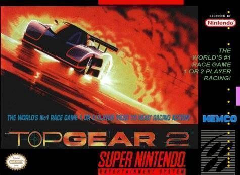 Top Gear 2 - SNES ROM Free Download