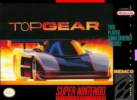 Top Gear - SNES ROM Free Download