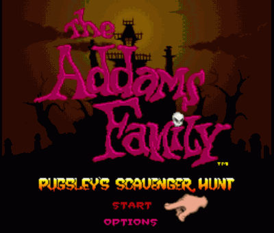 Addams Family, The - Pugsley's Scavenger Hunt (Beta)