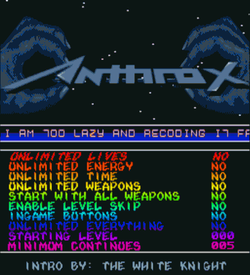 Anthrox 1 (PD)