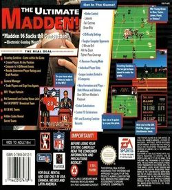 Madden NFL '96 Reviewer Version