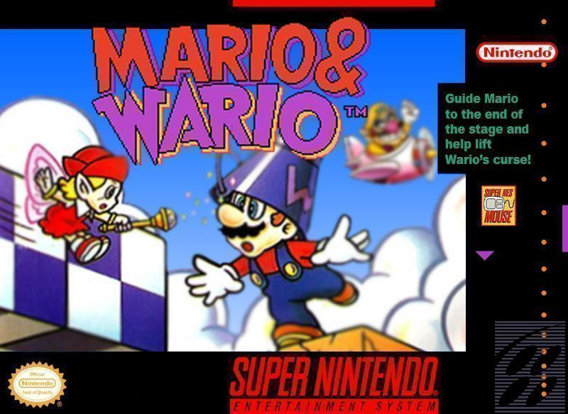 Mario & Wario (Joypad Hack) - SNES ROM Free Download