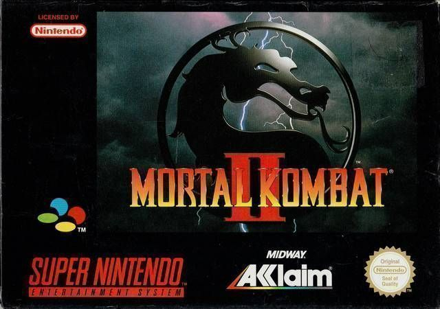 Mortal Kombat II (Anthrox Beta Hack) - SNES ROM Free Download