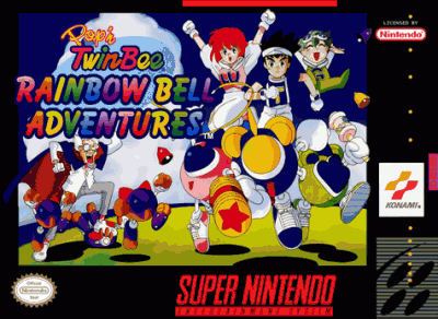 Pop 'N' Twinbee - Rainbow Bell Adventure