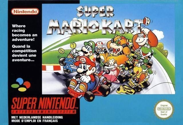 Super Mario Kart (Turbo Hack)
