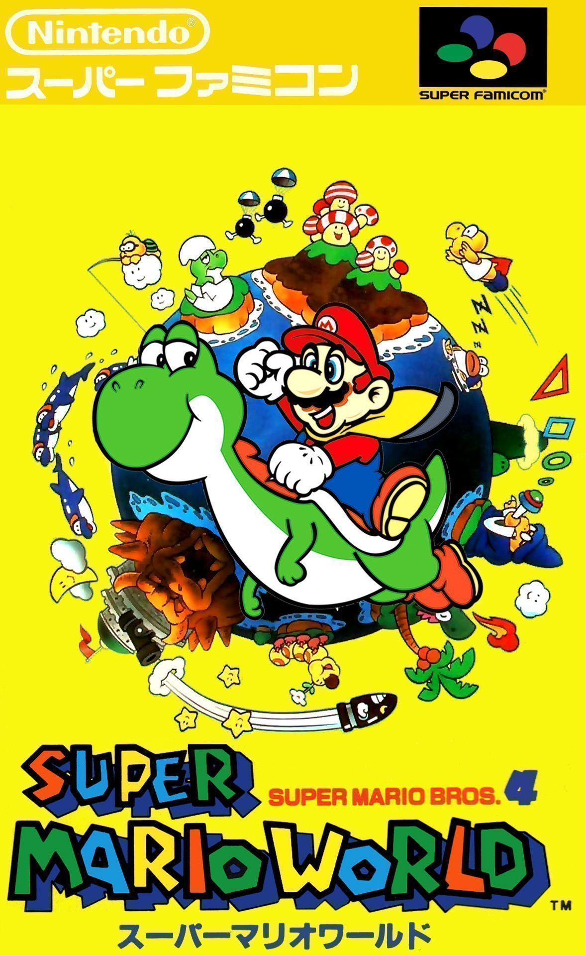 Super Mario World Super Nintendo Snes Rom Download