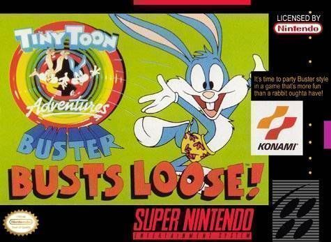 Tiny Toons Adventures - Buster Busts Loose! (21699)